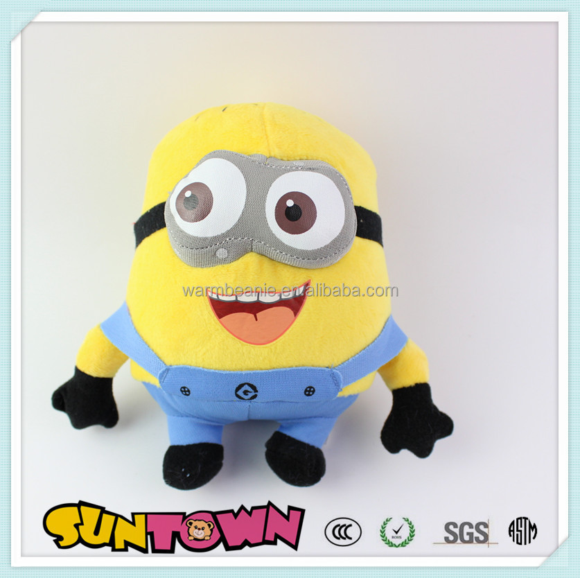 plush Material despicable me yellow minion soft toy,baby toys,kid toys