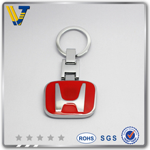 competitive price 20MM soft enamel keychain with ring