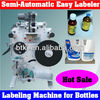 Semi-Auto Barcode Label Machine for Bottles,Hot Sale Portable Tabletop Barcode Labelling Machine for Sale with Cheap Price