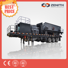 New invention famous manufacturer of mobile crusher