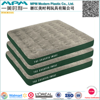 Soft flocking on air comfort mattress, inflatable on air comfort Mattress