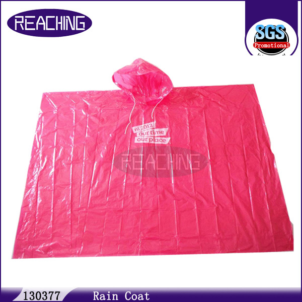 Replied In 60 Minutes Imprint Ladies Pvc Raincoats