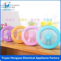 2015 new design colorful table usb fan with CE ROHS