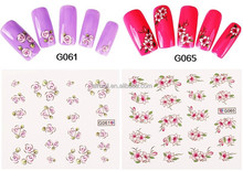 New Arrival Nail Art Water Sticker Nails Beauty Wraps Foil Polish Decals Tattoos Watermark