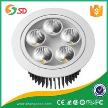 Shangda Hot sale light direction fire-rated IC led downlight with IC driver 50W/60W/70W/80W