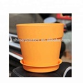 PP Molded Plastic Flower Pot for Wholesale