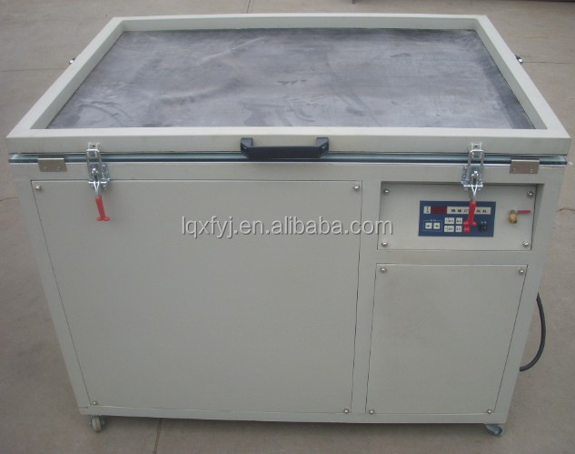 automatic vacuum screen exposure machine