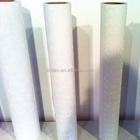 PVC clear matt glitter cold laminating film roll