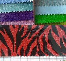 pvc leather shiny glitter fabric for shoes ,new patent leather fabric mirror face