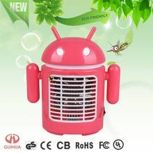 Bedroom portable pink cartoon design best sale indoor use mosquito killer mosquito lamp Bug Zapper