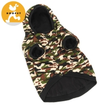 Handsome camo coat couture dog clothes winter wholesale