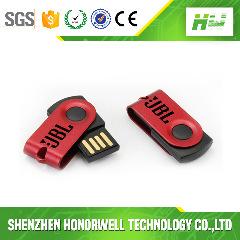 Hot selling customized mini swivel usb disk usb pen drive promotional item
