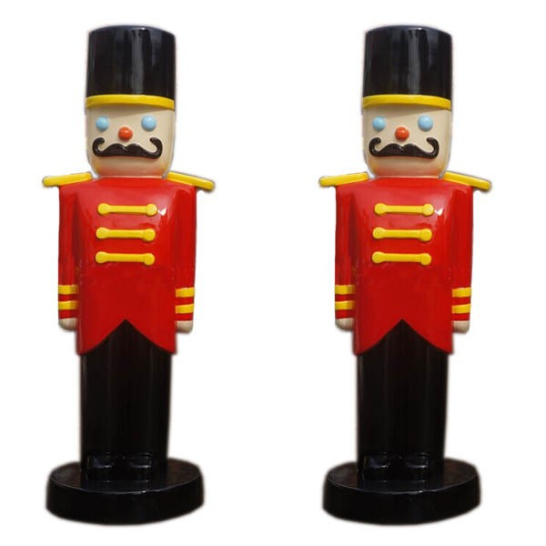 fiberglass nutcracker soldier for christmas decorations