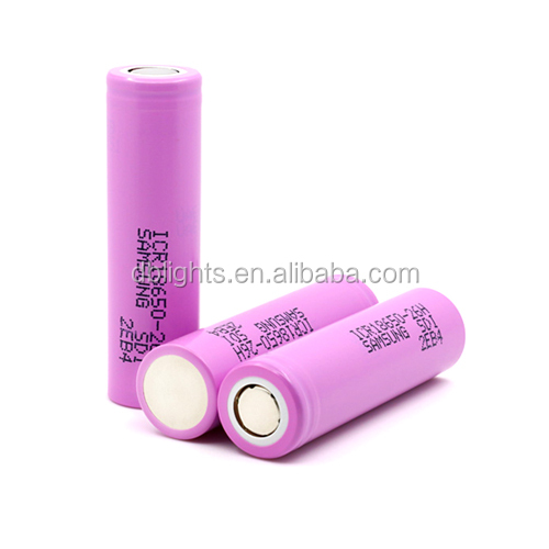 3.6V 2600mAh ICR18650-26H/HM Lithium-ion Rechargeable battery /battery pack