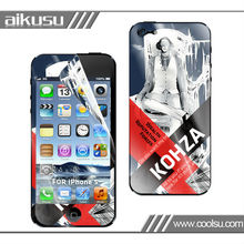2013 Hot sale cellphone screen protector for iphone 5
