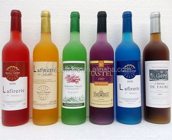 750ml colored glass wine bottles view colored glass wine for How to color wine bottles