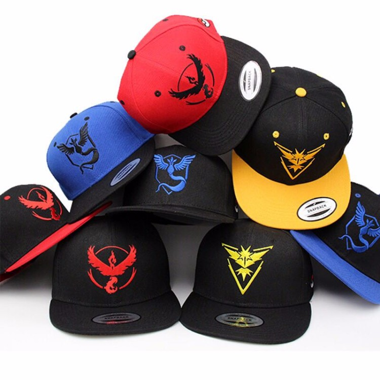 Unisex Gender and Snapback Cap pokemon series snapback hat