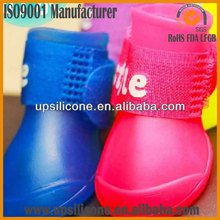 Newest indoor outdoor silicone dog shoes