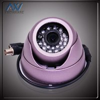 IR 20m 24pcs & 5 leds color ccd vandal-proof IR dome camera
