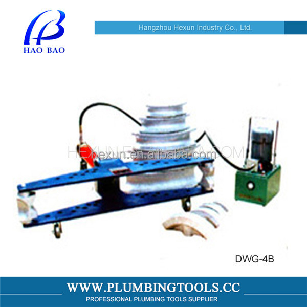 Pneumatic Portable pipe bender 4 inch DWG-4B Electric Hydraulic Pipe Bending machine