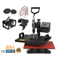 Sublimation 8 in 1 Temperature Controller Heat Press Machine