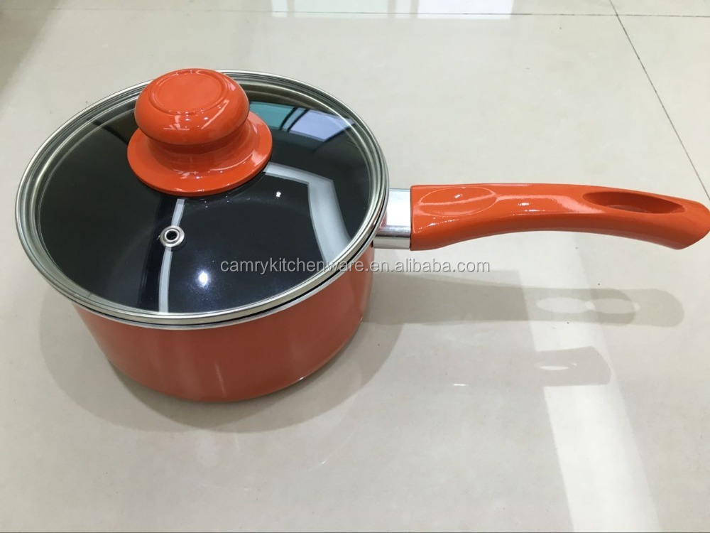 Aluminum Non-stick Sauce Pan with Lid