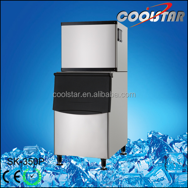 Commercial Portable Industrial cube ice maker for sale
