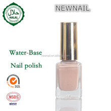 Eco-friendly halal nail polish use your own private label