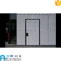 Powder coated expanded metal mesh/raised expanded metal sheet