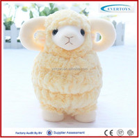 big eyed stuffed toys stuffed purple sheepskin plush sheep toy