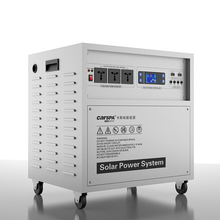 Solar Energy System 1000W home solar system solar panel system inverter+controller+charger+battery