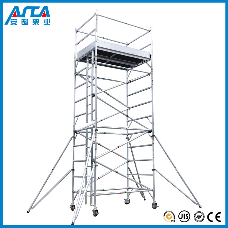 Good price Metal building material scaffolding extruded aluminum beam for construction with high quality
