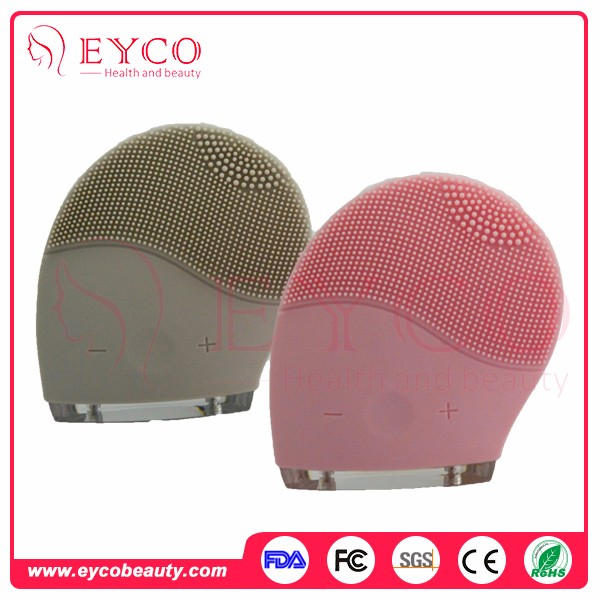 Facial Skin Scrubber Silicone Sonic Dry Skin Face Brush Ultrasonic Face Massager For Home Use