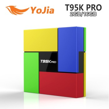New coming T95K PRO 2GB 16GB Amlogic S912 Octa Core Andorid 6.0 TV BOX KODI Fully Load Media Player