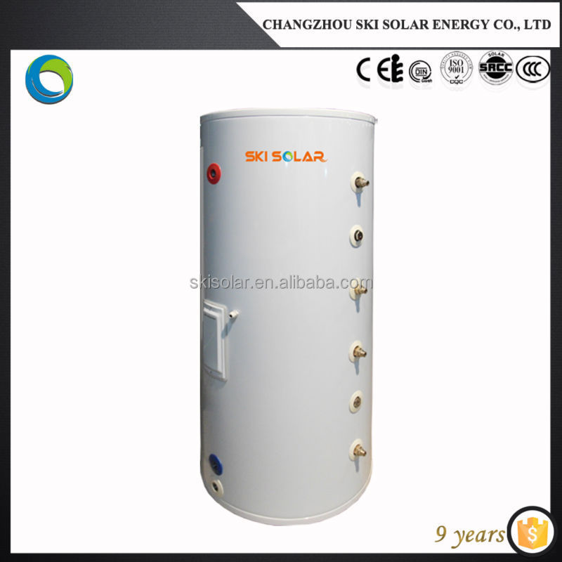 solar water heater galvanized water pressure tank