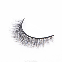2017 new design Custom order 3D Silk Faux Mink Eyelashes