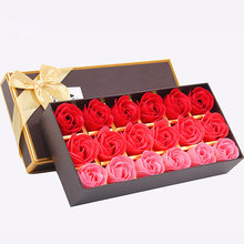 Factory Direct Wedding Decoration Party Gift Body Bath Soap Rose Petal Soap Flower
