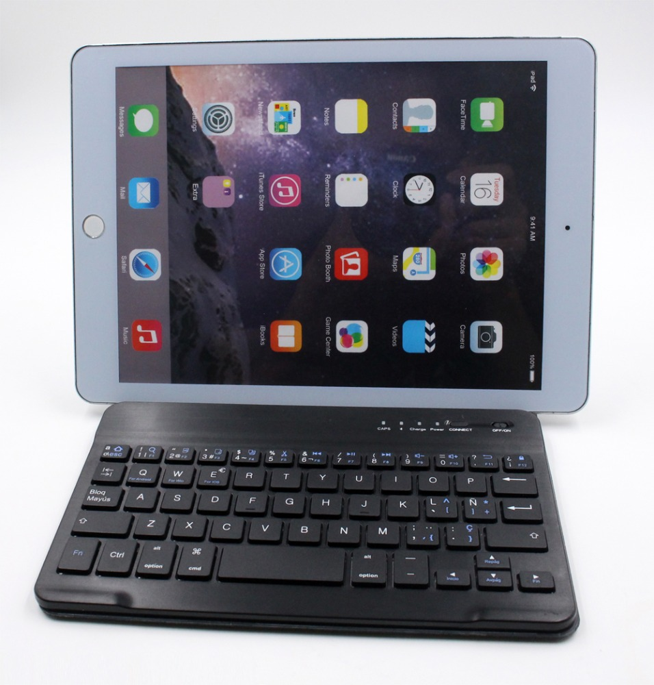 2016 7inch/8inch/9.5inch keyboard Hottest Stand Leather Case Bluetooth Keyboard for iPad,for ipad keyboard