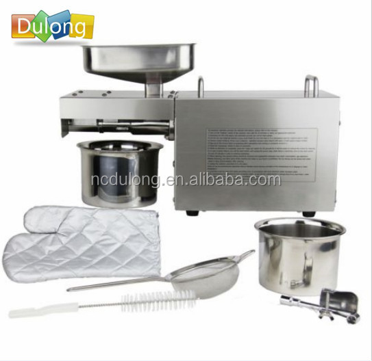 DL-ZYJ05B Stainless steel automatic sesame oil cold press machine