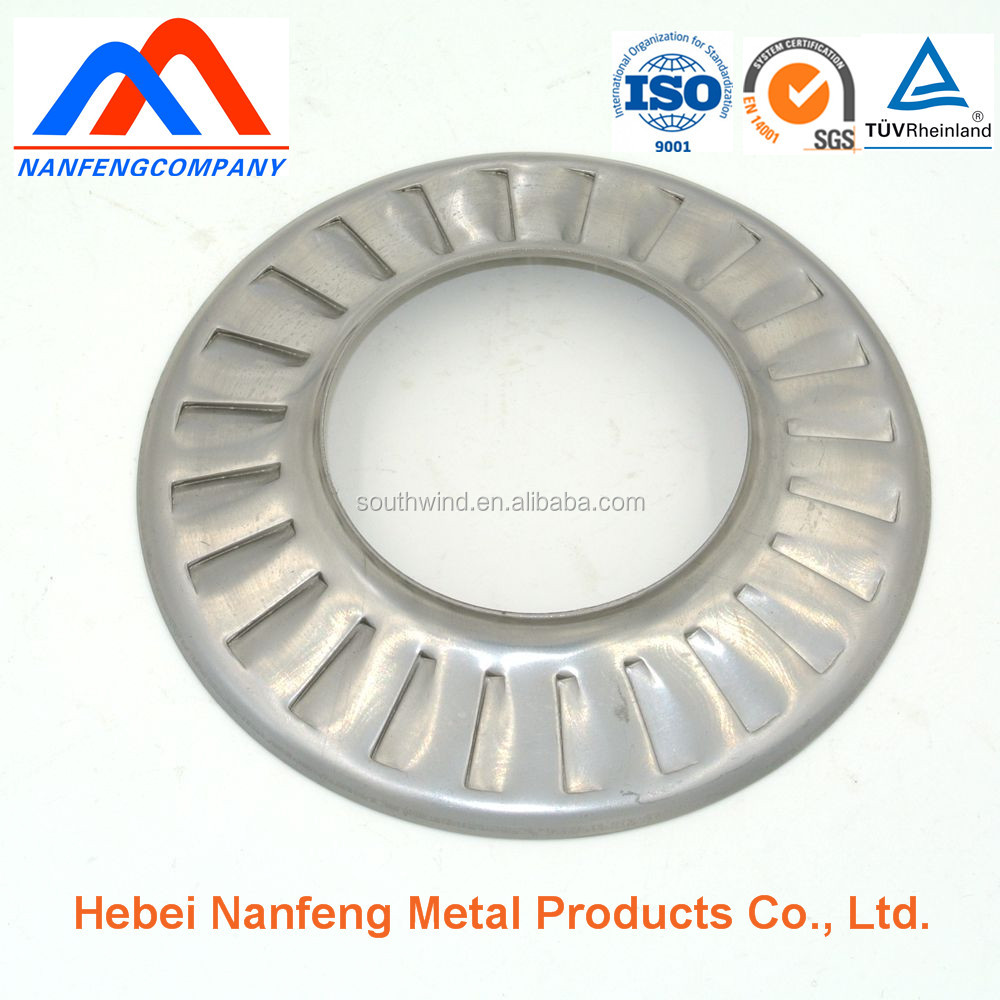 Nanfeng metalwork mechanical parts zinc plated deep draw stamping