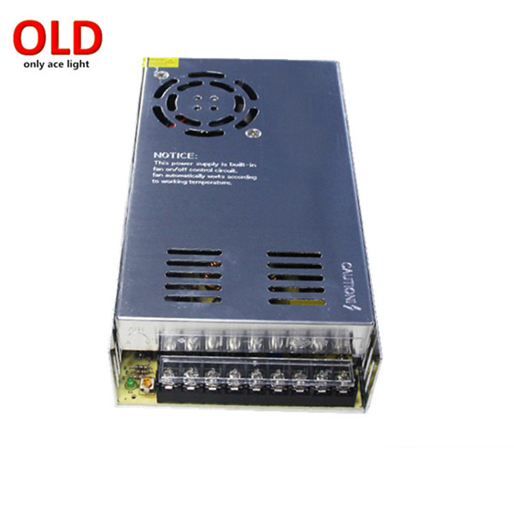 made in china 12volt 30amp power supply 360w led power supply 12v dc for LED strip and led light