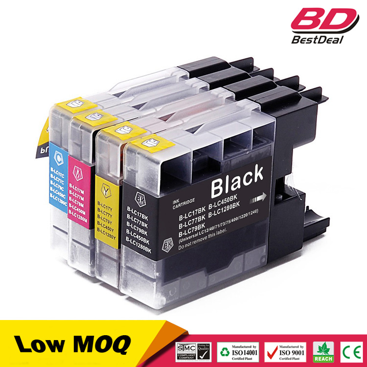 LC17XL LC77XL LC79XL LC450XL LC1280XL compatible ink cartridge for brother