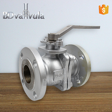 stainless steel ball valve 1000WOG CF8M 2pc ball valve Lever operated