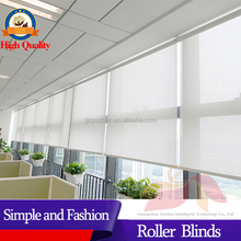 Finished roller blind with Component and roller blinds Accessory or Side Tracks