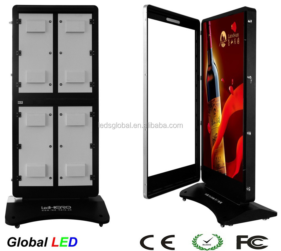 85Inch P5 SMD Indoor Full color LED Advertising Display Screen