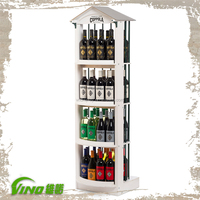 Monster energy drink display stand, Beer supermarket display rack