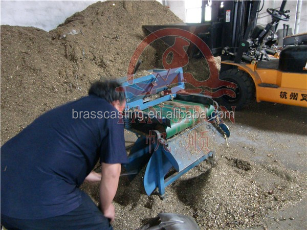 brass/copper iron magnetic separator machine for sale