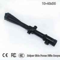 1/8 inch MOA 10-40x56 Riflescopes Wide Field of View Tactical Magnifier Sniper Side Focus Rifle Scope