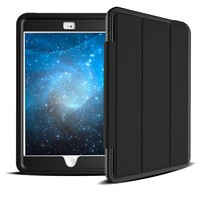 Smart Design Tri-folding Tablet Cover Case For iPad Mini 4