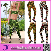 2016(RL223)High Quality Multiple Colors Fashion Brand Name Camouflage Leggings